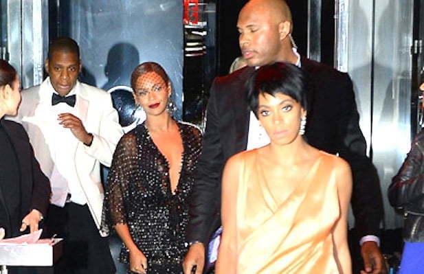 Jay Z Beyonce Solange