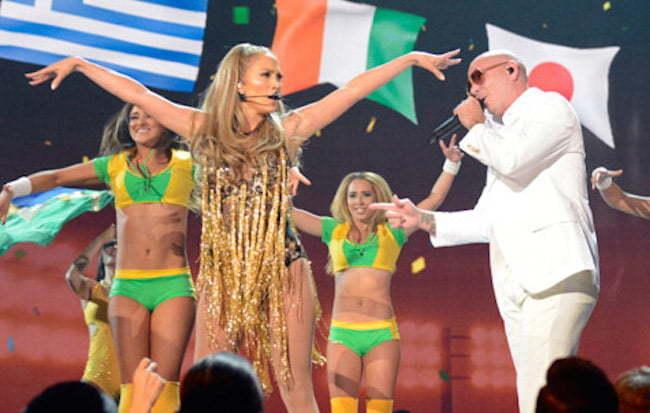 Jennifer Lopez Pitbull BBM Awards
