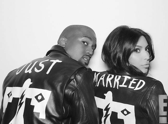 Kanye West Kim Kardashian Just Married