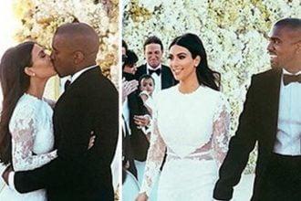 Kim Kardashian & Kanye West First Wedding Photos Release