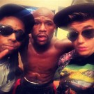 Lil Wayne Mayweather Justin Bieber