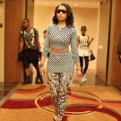 Nicki Minaj Checkers Outfit