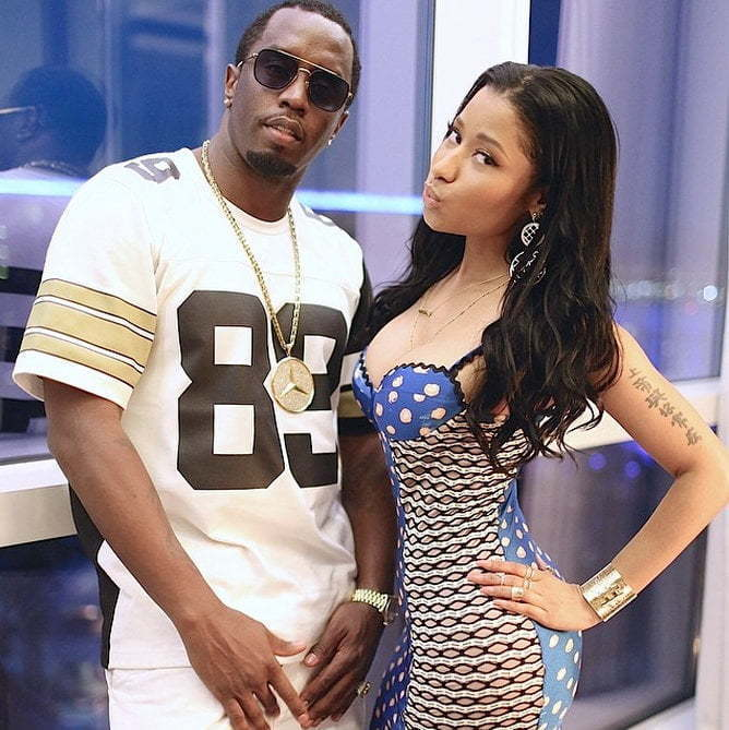 Nicki Minaj and Diddy