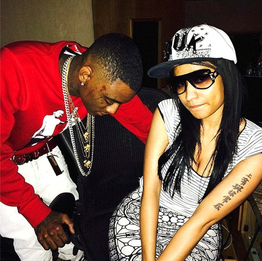 Nicki Minaj and Soulja Boy