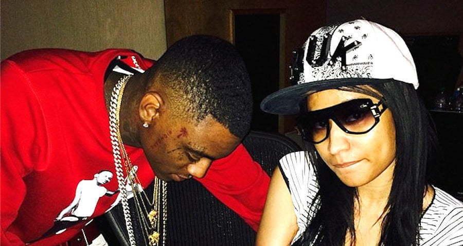 Nicki Minaj and Soulja Boy