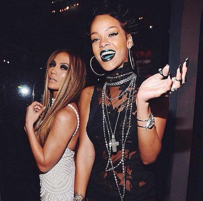 Rihanna and JLo
