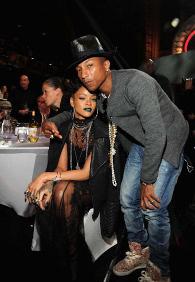 Rihanna and Pharrell
