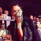 Rihanna gothic look
