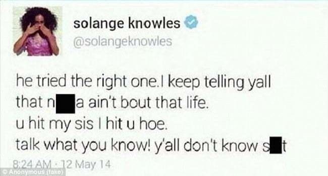 Solang Jay Z tweet