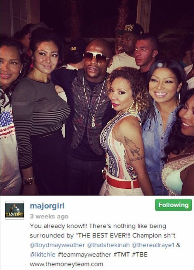 Tiny and Mayweather