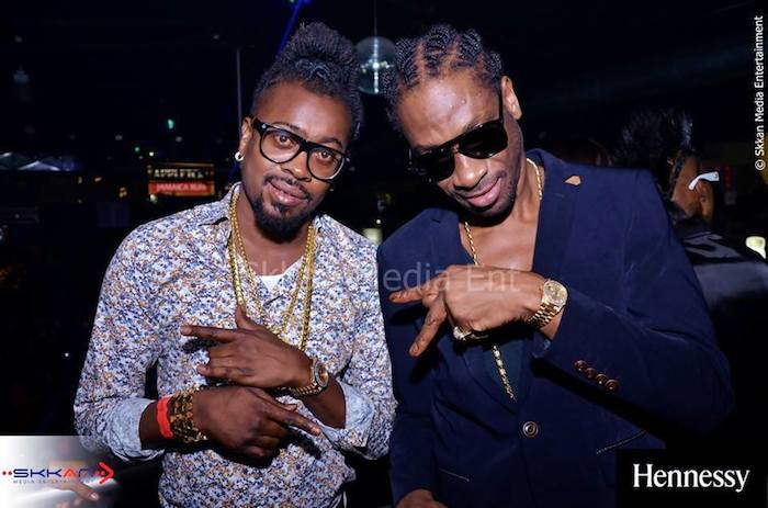 Bounty Killer and Beenie Man pic