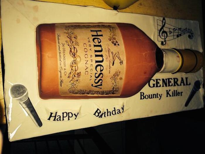 Bounty Killer birthday cake