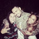 Chris Brown welcome home party 1