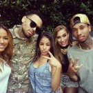 Chris Brown welcome home party 4
