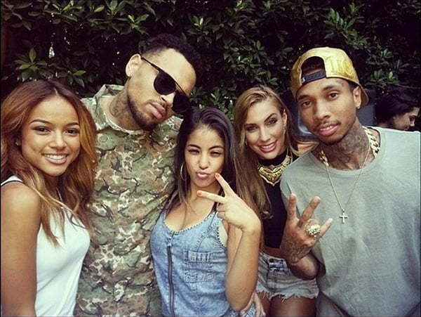 Chris Brown Suprised With Home Coming Party [PHOTO ...