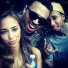 Chris Brown welcome home party 5