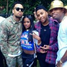 Chris Brown welcome home party 7