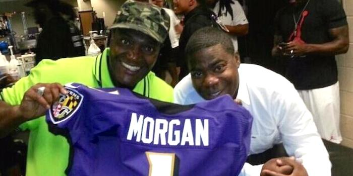 James McNair and Tracy Morgan