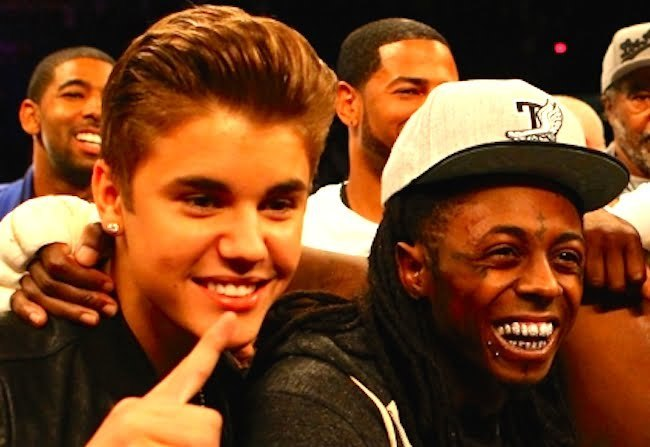 Lil Wayne and Bieber