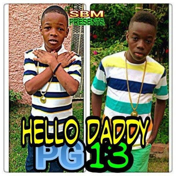 Little Addi Little Vybz Hello Daddy