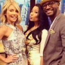 Nicki Minaj Kelly and Taye Diggs