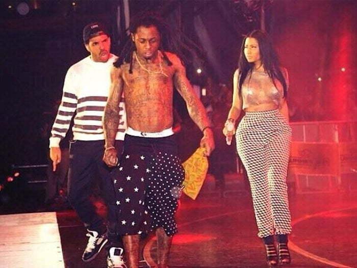 Nicki Minaj Lil Wayne Drake