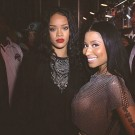 Nicki Minaj and Rihanna