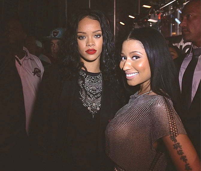 Nicki Minaj and Rihanna