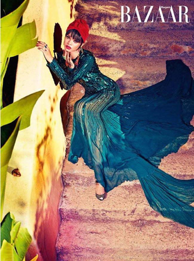 Rihanna Harpers Bizaar Arabia 5