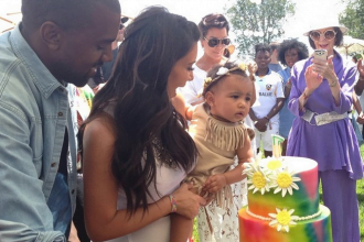 Kanye & Kim Baby North West Celebrates First Birthday