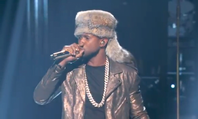 Usher BET Awards 2014