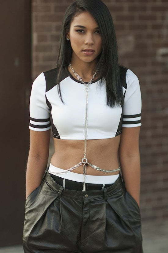 Alexandra Shipp as Aaliyah