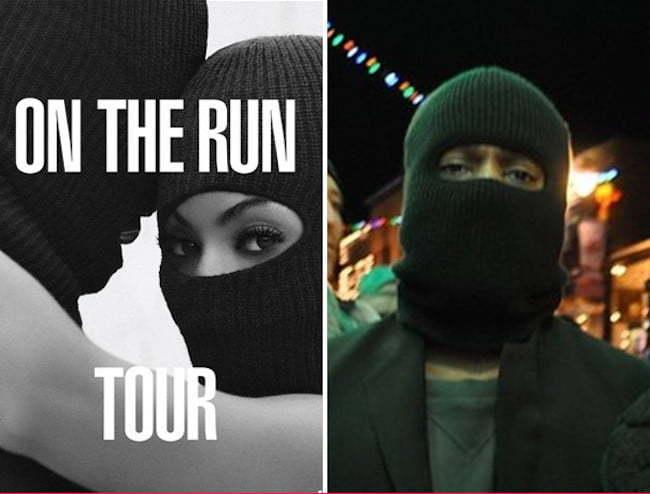 Beyonce Jay Z Kanye West Mask