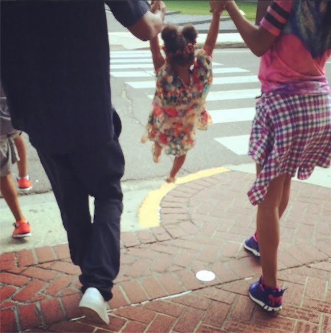 Beyonce Jay Z and Blue Ivy