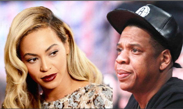 Beyonce and Jay Z Split