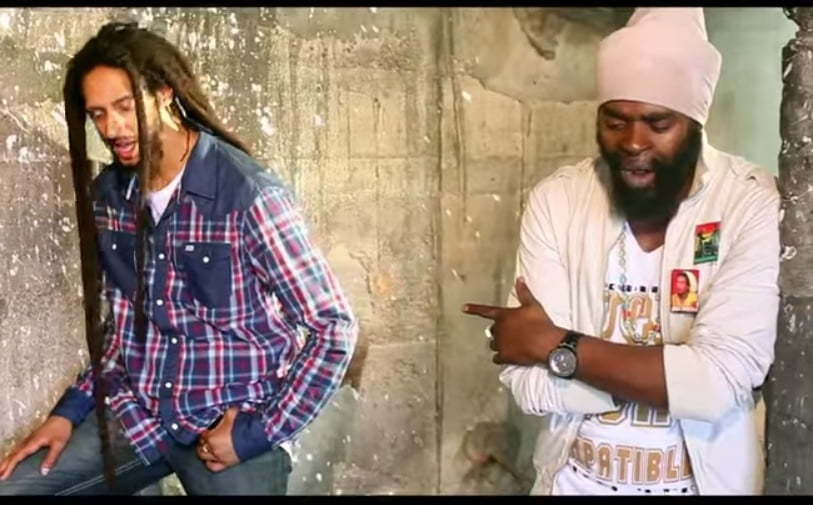 Bugle and Julian Marley