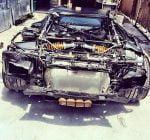 Chris Brown Lamborghini Aventador