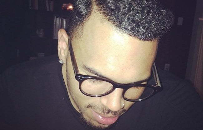 Chris Brown Retro hairstyle