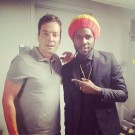 Chronixx and Jimmy Fallon