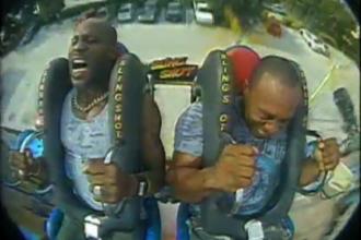 DMX Screaming On Amusement Park Ride [Full Video]