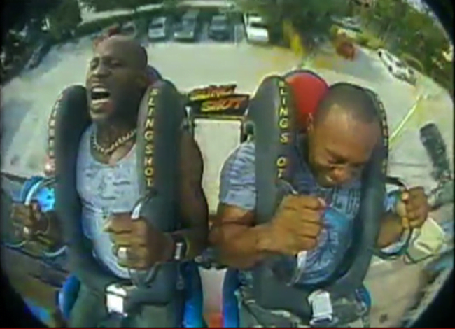 DMX amusement park ride