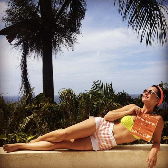 Katy Perry in Jamaica