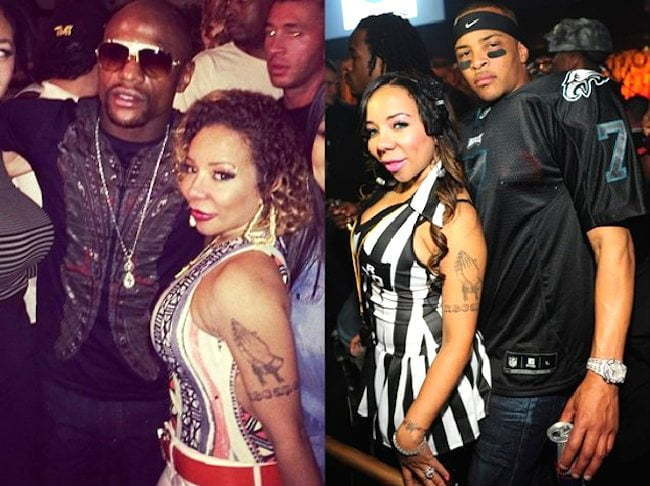 Mayweather TI and Tiny