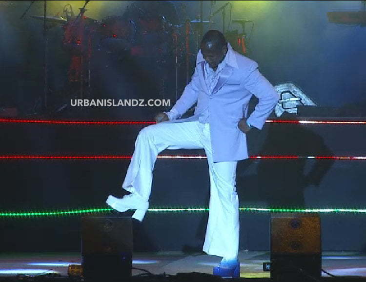 Mr Vegas Shoe Reggae Sumfest