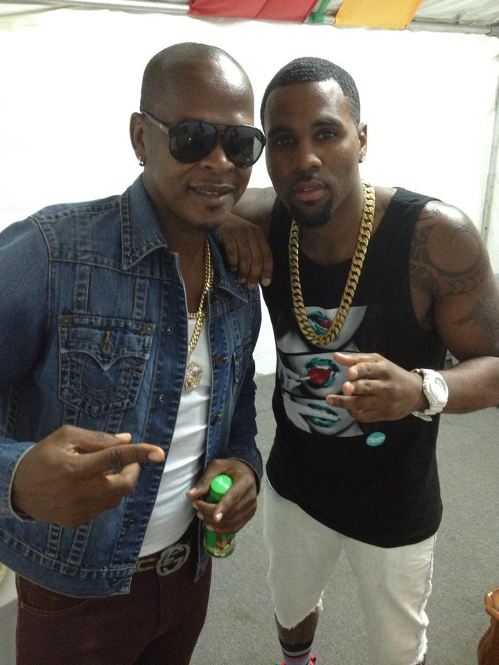 Mr Vegas and Jason Derulo