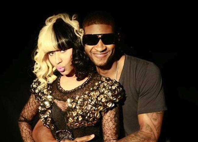 Nicki and Usher