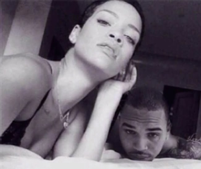 Rihanna and Chris Brown together