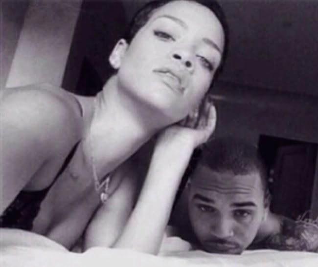 Rihanna and Chris Brown together