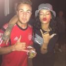 Rihanna and Mario Gotze