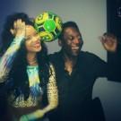 Rihanna and Pele 1